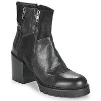 Sapatos Mulher Botins Café Noir JOEL Preto