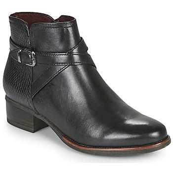 Sapatos Mulher Botins Tamaris MARLY Preto