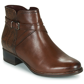 Sapatos Mulher Botins Tamaris MARLY Castanho