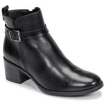Sapatos Mulher Botins Tamaris PAULETTA Preto