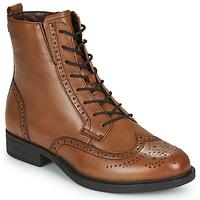 Sapatos Mulher Botas baixas Tamaris SUZAN Castanho
