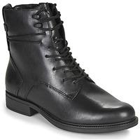 Sapatos Mulher Botas baixas Tamaris SUZAN Preto