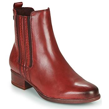 Sapatos Mulher Botins Tamaris MARLY Bordô