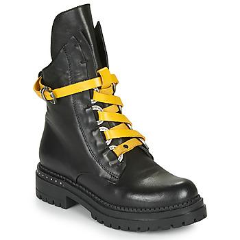 Sapatos Mulher Botas baixas Metamorf'Ose HADASSA Preto