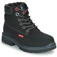 Sapatos Criança Botas baixas Levi's NEW FORREST Preto