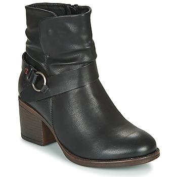 Sapatos Mulher Botins Emmshu FLEUR Preto