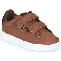 Sapatos Rapaz Sapatilhas Kappa TCHOURI 2V Castanho