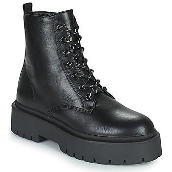 Sapatos Mulher Botas baixas Gioseppo YELABUGA Preto