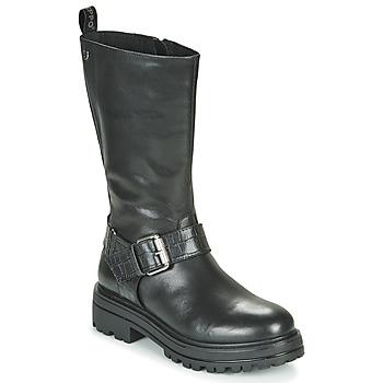 Sapatos Mulher Botas baixas Gioseppo VALLENDAR Preto