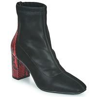 Sapatos Mulher Botins Gioseppo EGELN Preto / Vermelho