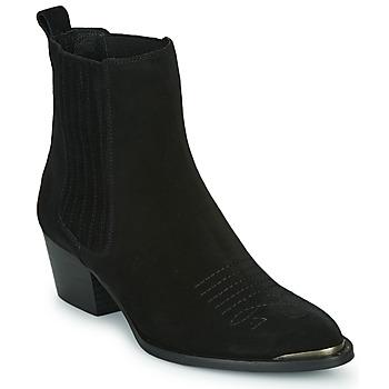 Sapatos Mulher Botins Ikks TIAG SUEDE Preto