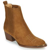 Sapatos Mulher Botins Ikks TIAG SUEDE Camel