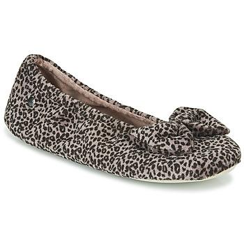 Sapatos Mulher Chinelos Isotoner 97209 Leopardo