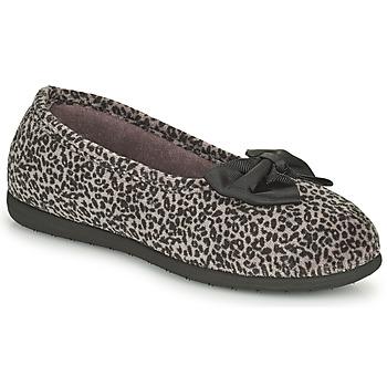 Sapatos Mulher Chinelos Isotoner 97261 Leopardo