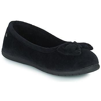 Sapatos Mulher Chinelos Isotoner 97258 Preto