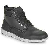 Sapatos Rapaz Botas baixas Jack & Jones JR TUBAR LEATHER Preto