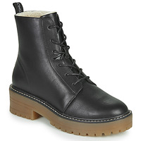 Sapatos Mulher Botas baixas Only BRANDY-6 LACE UP WINTER BOOT Preto