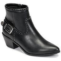 Sapatos Mulher Botins Only TOBIO-7 PU STUD BOOT Preto