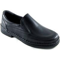 Sapatos Homem Mocassins Calzafarma Sapatos masculinos de farmácia largura e negro