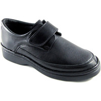 Sapatos Homem Mocassins Calzafarma Farmácia sapato velcro homem largura esp negro
