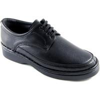 Sapatos Homem Sapatos Calzafarma Laços de sapato de farmácia homem largur negro
