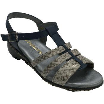 Sapatos Mulher Sandálias 48 Horas Sandálias de tiras femininas  em azul