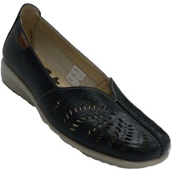 Sapatos Mulher Mocassins 48 Horas Mulher openwork fechado resto sapato 48 azul