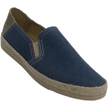 Sapatos Homem Alpargatas Made In Spain 1940 Sapatilhas de cano fechado para homem Al azul