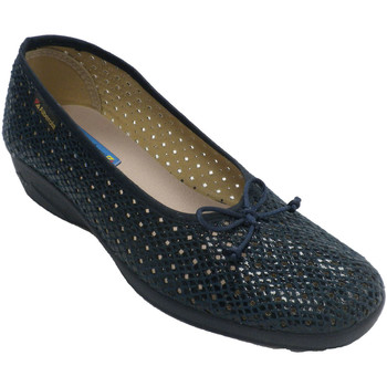 Sapatos Mulher Chinelos Made In Spain 1940 Apartamentos de tipo de sapato de mulher azul