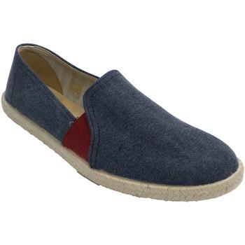 Sapatos Homem Chinelos Calzamur Tênis masculino com elástico vermelho Ca azul