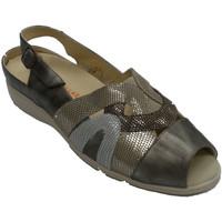 Sapatos Mulher Sandálias Doctor Cutillas Sandália mulher especial para palmilhas beige