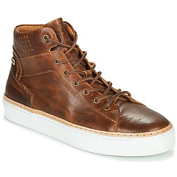 Sapatos Homem Sapatilhas de cano-alto Pataugas SERGIO H4F Conhaque