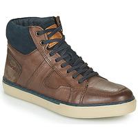 Sapatos Homem Sapatilhas de cano-alto Redskins CIZAIN Castanho