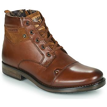 Sapatos Homem Botas baixas Redskins NISSA Conhaque