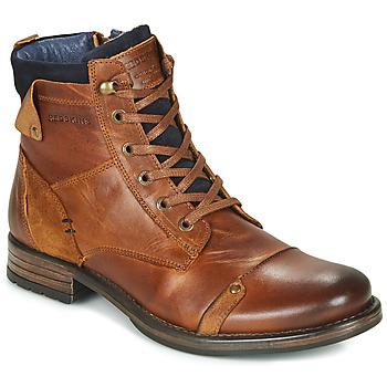 Sapatos Homem Botas baixas Redskins YANI Conhaque