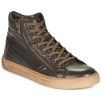Sapatos Homem Sapatilhas de cano-alto Redskins NERINO Castanho