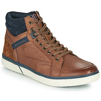 Sapatos Homem Sapatilhas de cano-alto Redskins ZOUK Castanho