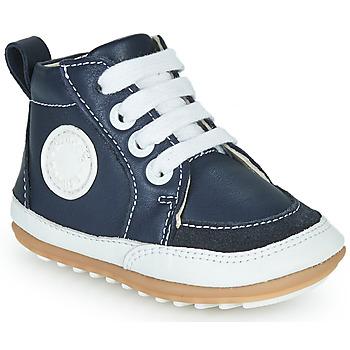 Sapatos Criança Botas baixas Robeez MIGO Marinho