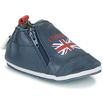 Sapatos Criança Chinelos Robeez LONDON FLAG Marinho