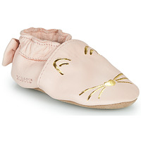 Sapatos Rapariga Chinelos Robeez GOLDY CAT Rosa / Ouro