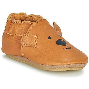Sapatos Criança Chinelos Robeez SWEETY BEAR CRP Camel