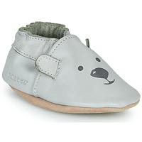 Sapatos Criança Chinelos Robeez SWEETY BEAR Cinza