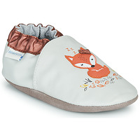 Sapatos Rapariga Chinelos Robeez LITTLE DREAMER Cinza / Laranja