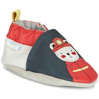 Sapatos Rapaz Chinelos Robeez FIREMAN Marinho / Vermelho