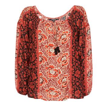 Textil Mulher Tops / Blusas Desigual ROSAL Vermelho