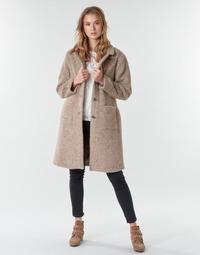Textil Mulher Casacos Cream AMELIA COAT Bege