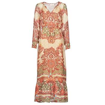 Textil Mulher Vestidos compridos Cream SANNIE DRESS Multicolor