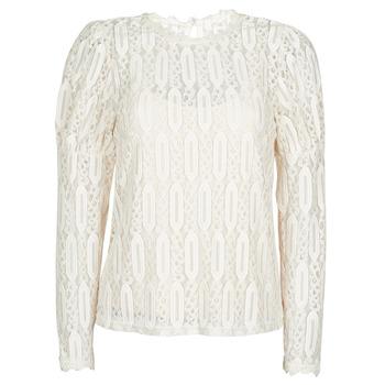 Textil Mulher T-Shirt mangas curtas Cream VIVI LS TSHIRT Bege