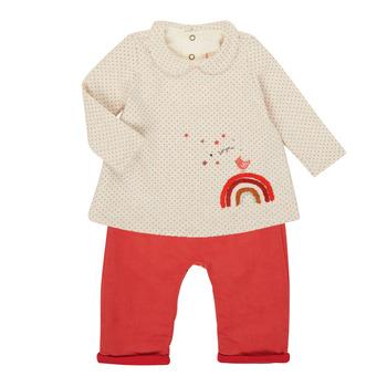 Textil Rapariga Conjunto Catimini CR36031-60 Rosa