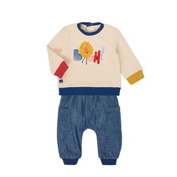 Textil Rapaz Conjunto Catimini CR36050-46 Multicolor
